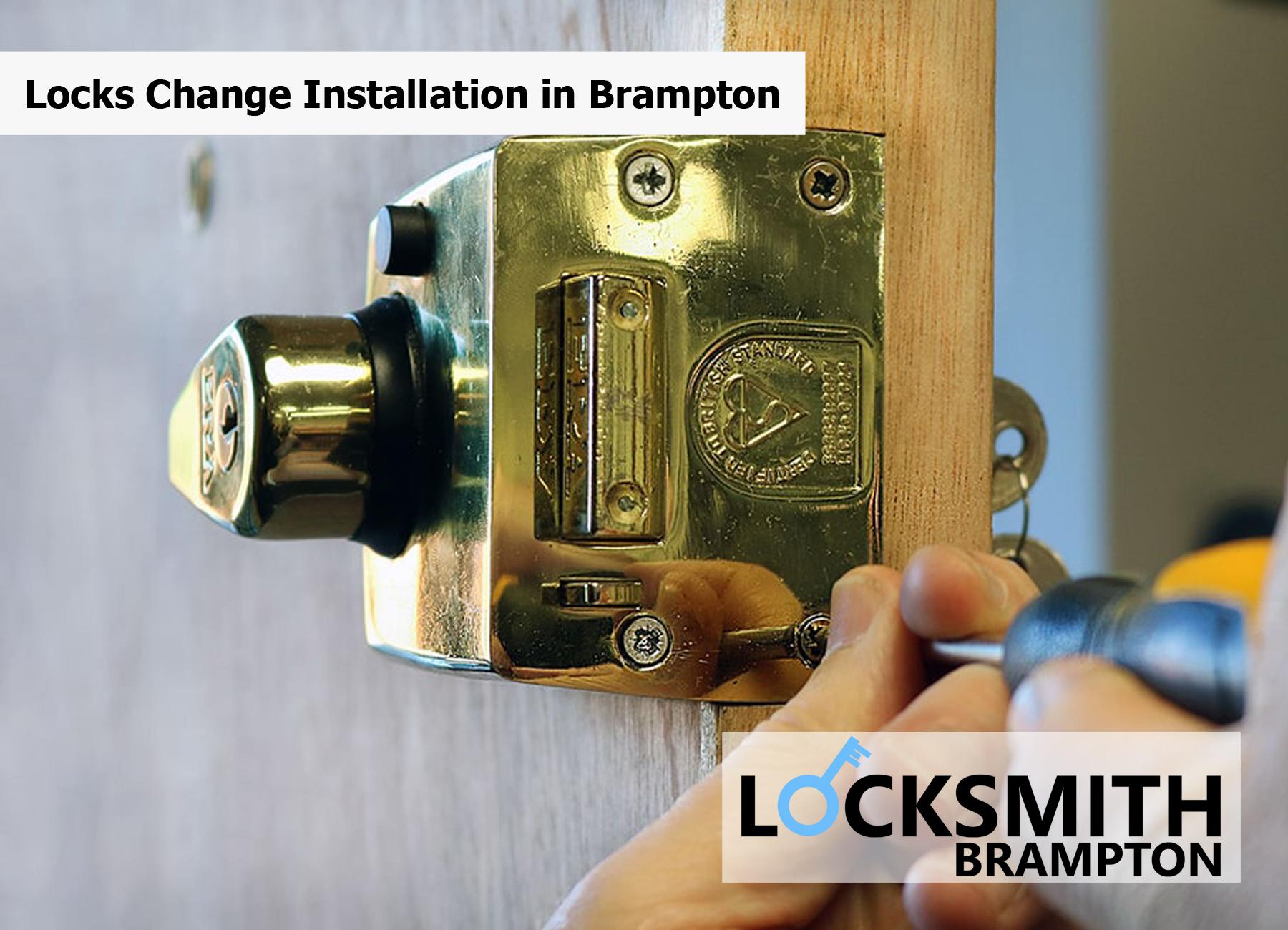 Locks Change Installation in Brampton