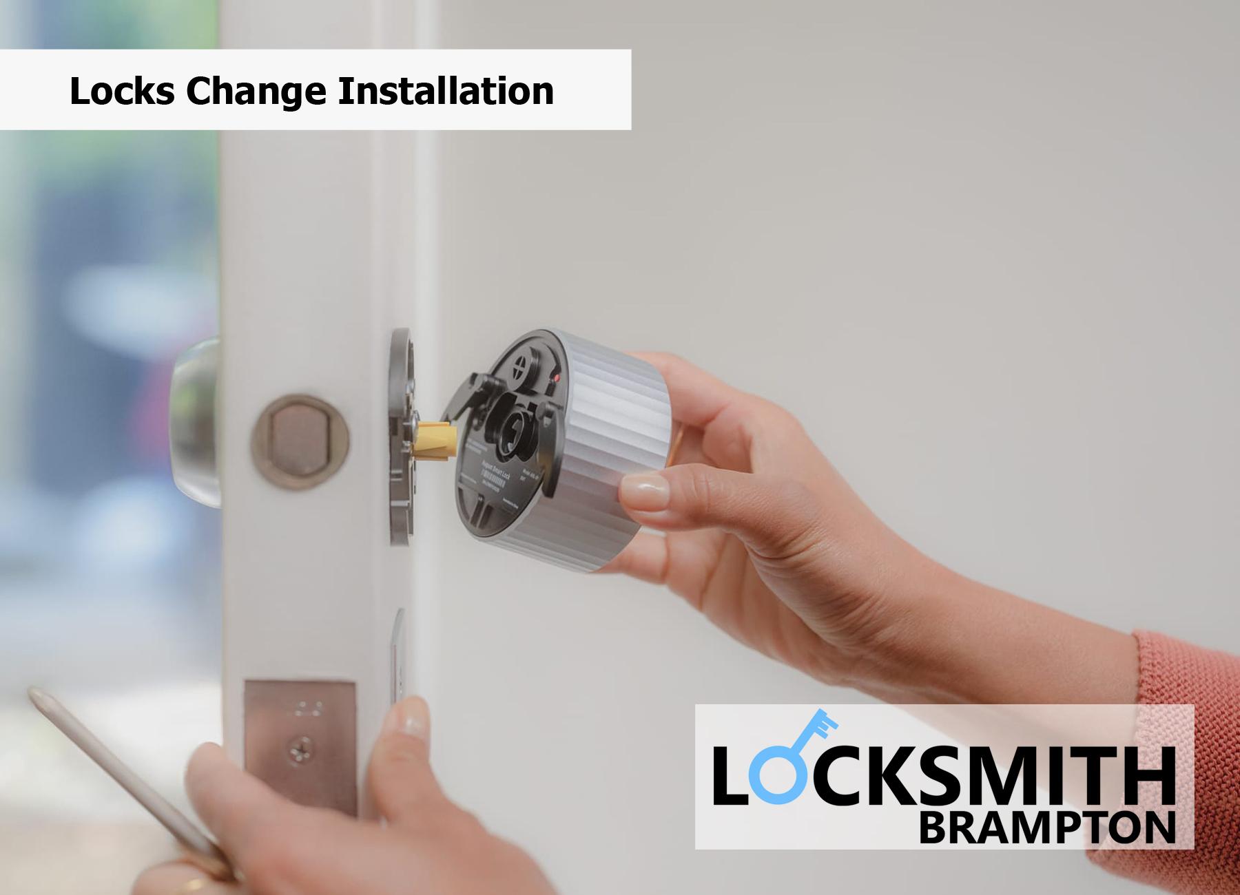 Locks Change Installation