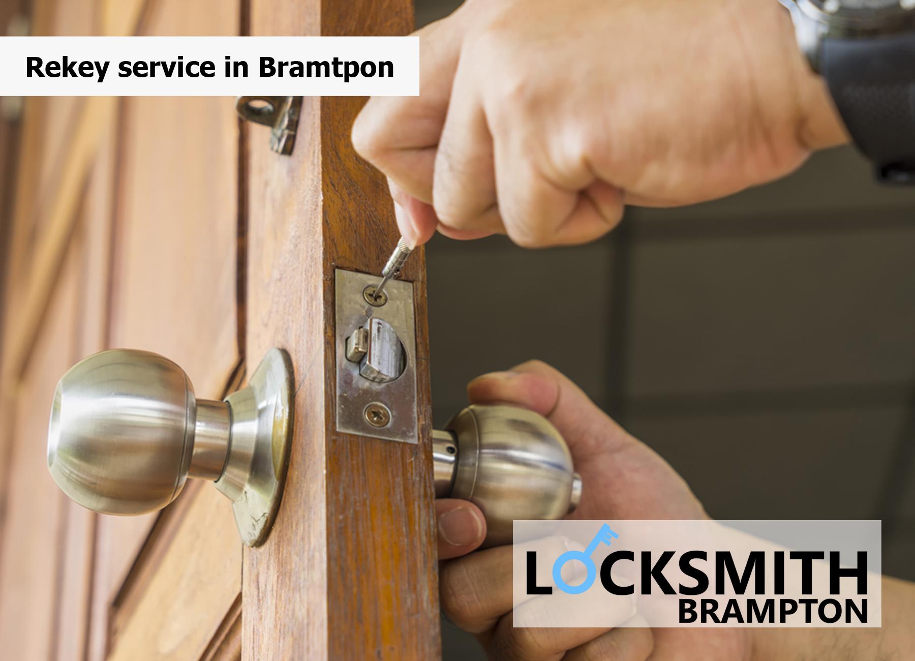 Rekey service in Bramtpon