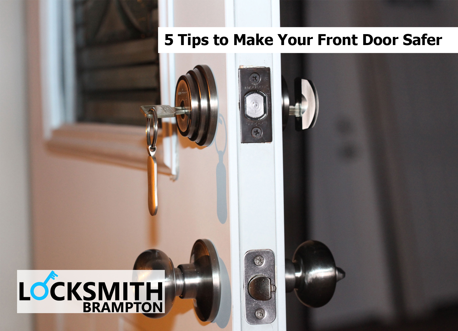 5 Tips to Make Your Front Door Safer