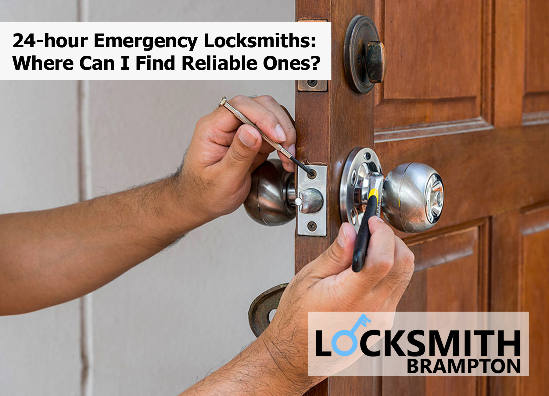 24-hour Emergency Locksmiths: Where Can I Find Reliable Ones?