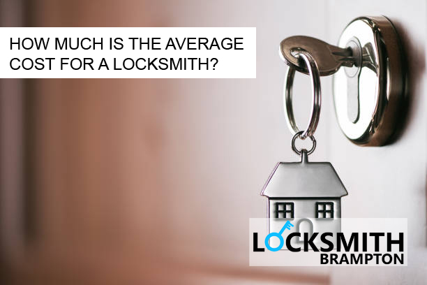 HOW MUCH IS THE AVERAGE COST FOR A LOCKSMITH?