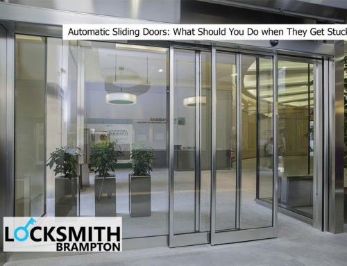 Automatic Sliding Doors: What Should You Do when They Get Stuck?