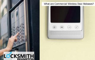 Commercial Wireless Door Release